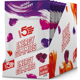 High5 Energy Kauwgom Bag 10x26g, Mixed Berry